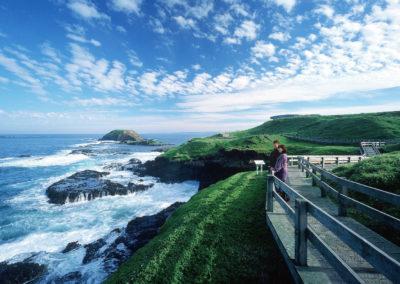 Ocean view at the nobbies