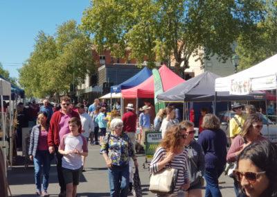 Market at Bendigo