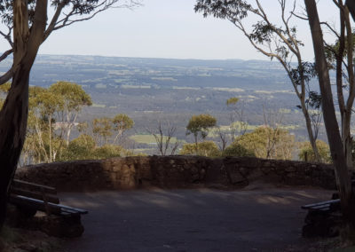 View from Mt Macedon
