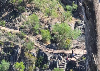 Steps to Mackenzie's Falls