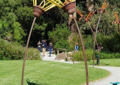 Walking through Healesville Sanctuary
