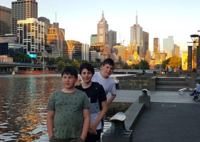Yarra River Melbourne Victoria Australia
