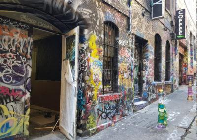 Street art Melbourne Victoria Australia