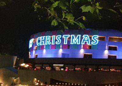 Christmas time in Melbourne