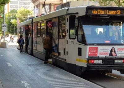 Tram Burke Street Melbourne