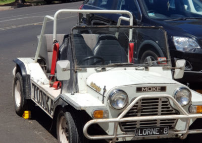 Beach buggy at Lorne