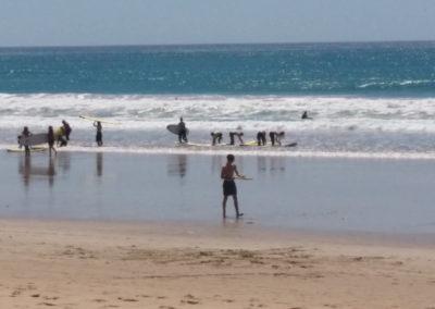 Surf lesson at Lorne