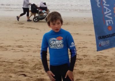 Surf lesson at Anglesea
