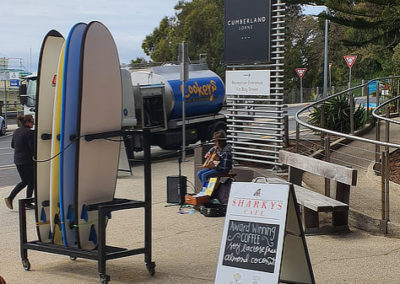 Surfboard hire Lorne