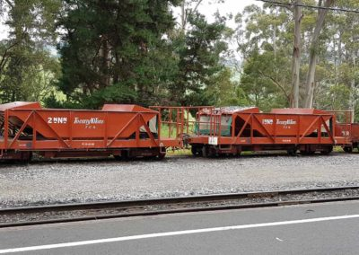 Carriages for Puffing Billy