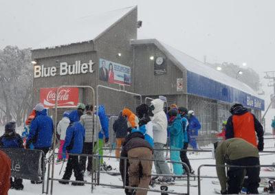 Lift station on Burke street Mt Buller