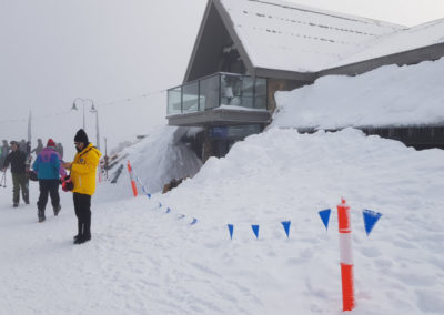 Plenty of snow in village Mt Buller