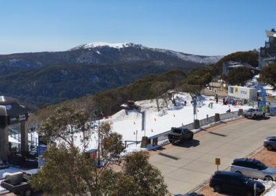 View from Mt buller Victoria Australia