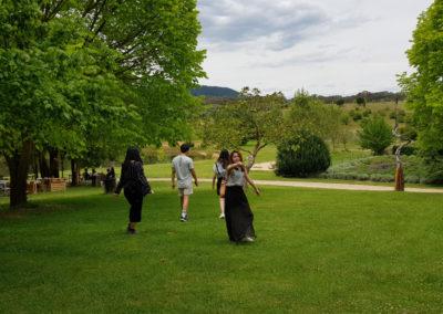 gardens at Lavandula Farm