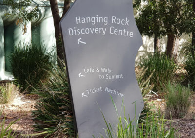 Directions at Hanging Rock