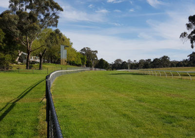 Race track at Hanging Rock