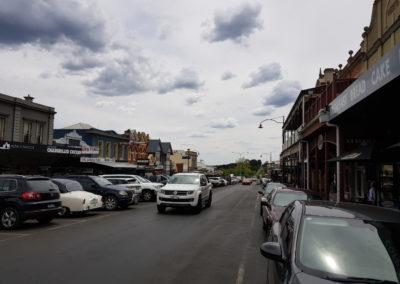 Main road Daylesford