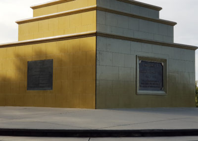 Memorial Cross base