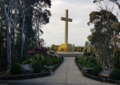 Mt Macedon Cross Memorial