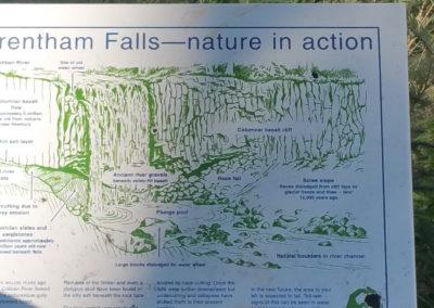 Trentham Falls map