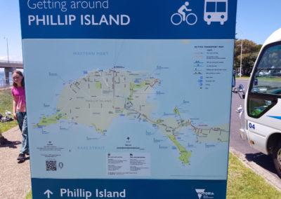 Getting around Phillip Island