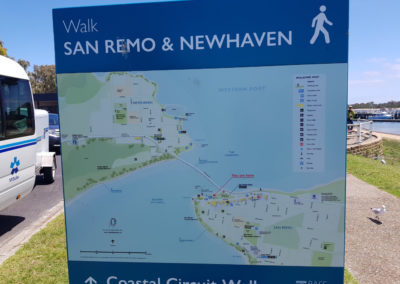 Walk in San remo and Newhaven Phillip Island