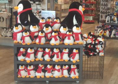 Gift shops at Penguin Parade Phillip Island