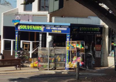 Shops main street Cowes Phillip Island