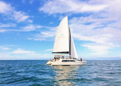 Sailing on Port Phillip Bay