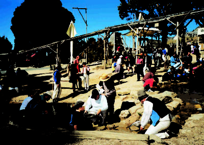 Sovereign hill panning for gold