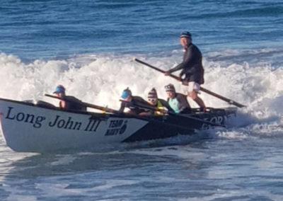 Surf boat at Lorne