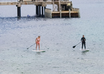 Paddle boarding at Port Campbell Great Ocean Road