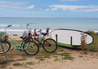Hire a bicycle or surfboard at Lorne