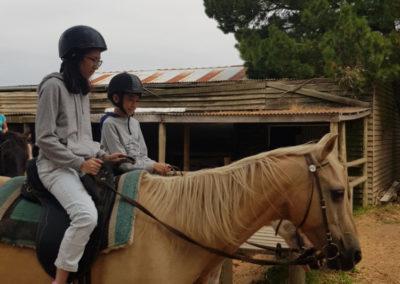 Horse riding at Mornington Peninsula