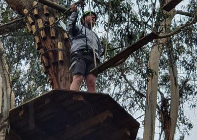 Platform between activities at Lorne Livewire Park