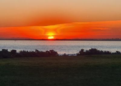 Sunset across Port Phillip Bay