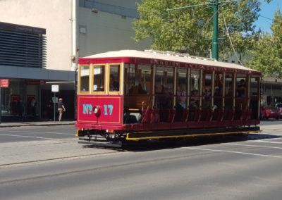 Old tram in Bendigo
