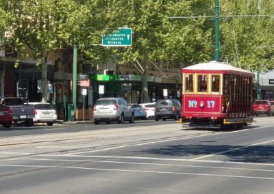 Talking tram tour in Bendigo