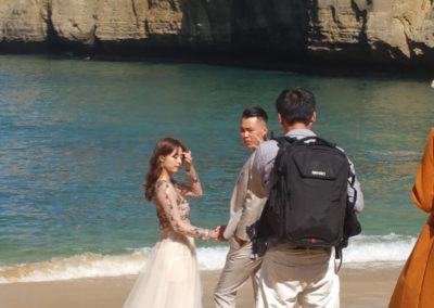 Wedding photos on Beach