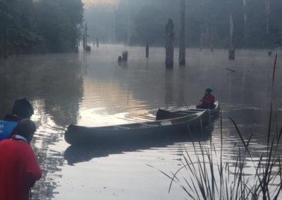Kayak on Lake Elizabeth