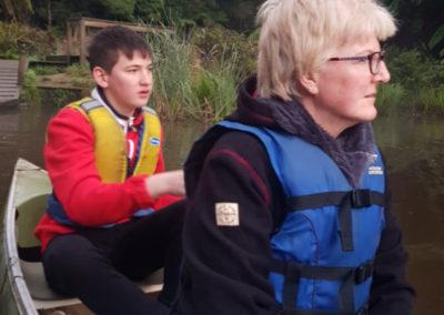 Paddling on Lake Elizabeth