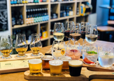 tasting Queenscliff brewhouse with Around And About