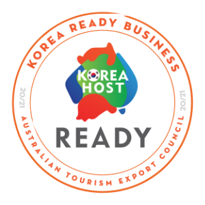 Korean Host badge Around And About